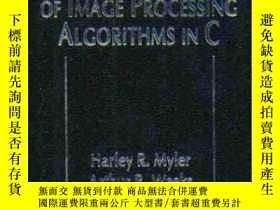 二手書博民逛書店The罕見Pocket Handbook Of Image Processing Algorithms In C-