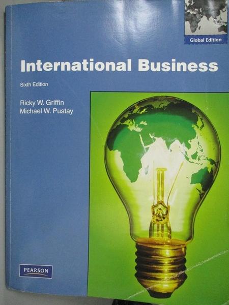 【書寶二手書T4/大學商學_EUI】International Business: Global Edition_Ric