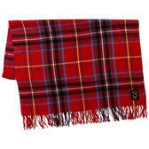 Sanrio  HELLO KITTY大面積保暖披巾(蘇格蘭紅格紋)★funbox★_656836