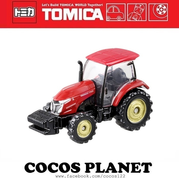 TOMICA 多美小汽車 NO.083 YANMAR紅色拖拉機 小汽車 COCOS TO175