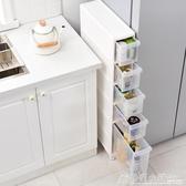 14cm冰箱置物架廚房置物櫃夾縫收納架洗衣機縫隙架冰箱側面窄架收ATF 格蘭小舖