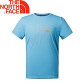【The North Face 男款 排汗短T《藍》】NF0A2XWY/排汗衣/短袖/圓領T恤★滿額送