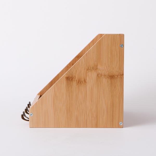 竹意壁掛三鉤收納盒-生活工場
