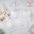 【Yurubra】童心少女內衣。 A.B.C罩 無鋼圈 少女 發育 制服 內搭 學生 台灣製 ※0596