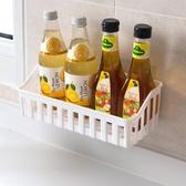 浴室置物架-居家家免打孔衛生間用品廁所塑料壁掛架子收納架洗漱架【快速出貨】