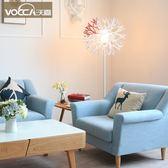 現貨落地燈北歐客廳臥室書房珊瑚立式落地燈創意個性藝術時尚現代簡約釣魚燈jy