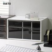 【nicegoods】日本ISETO 桌上分類抽屜收納盒-L白