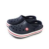 Crocs 涼鞋 休閒鞋 防水 雨天 深藍色 童鞋 204537-485 no006