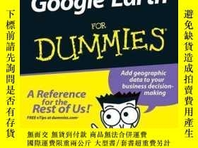 二手書博民逛書店Google罕見Earth For DummiesY410016 David A. Crowder ISBN
