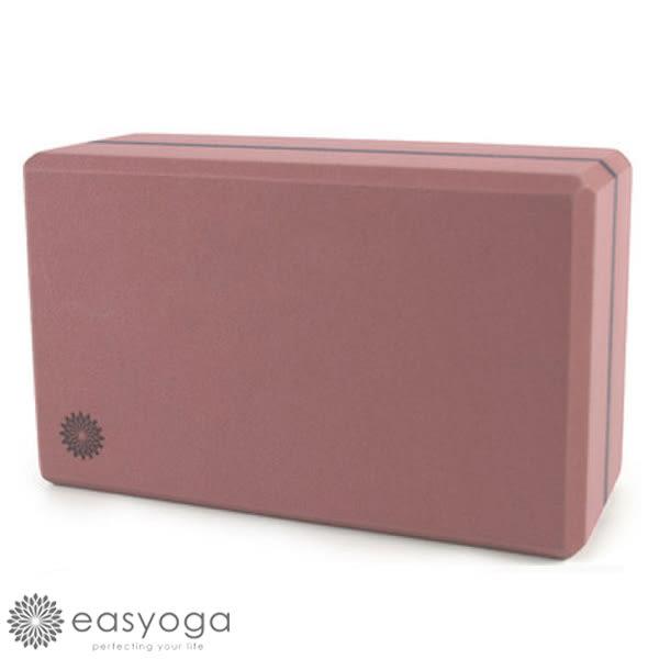 easyoga 瑜珈墊 高優質瑜珈磚 50D - 咖啡紅