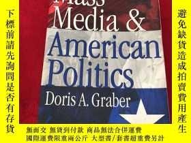 二手書博民逛書店Mass罕見Media And American Politics (大眾媒體和美國政治)Y156405 Ma