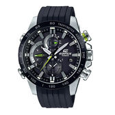 CASIO 手錶專賣店 EQB-800BR-1A 賽車三眼型男錶 太陽能 防水100米 藍芽智能連接 EQB-800BR