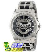 [104美國直購] Marc Ecko Men s E95016G7 Black Dial Bracelet Watch