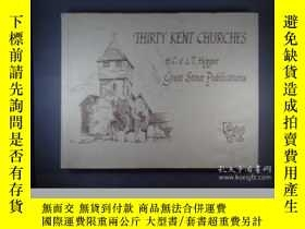 二手書博民逛書店Thirty罕見Kent ChurchesY346464 Hop