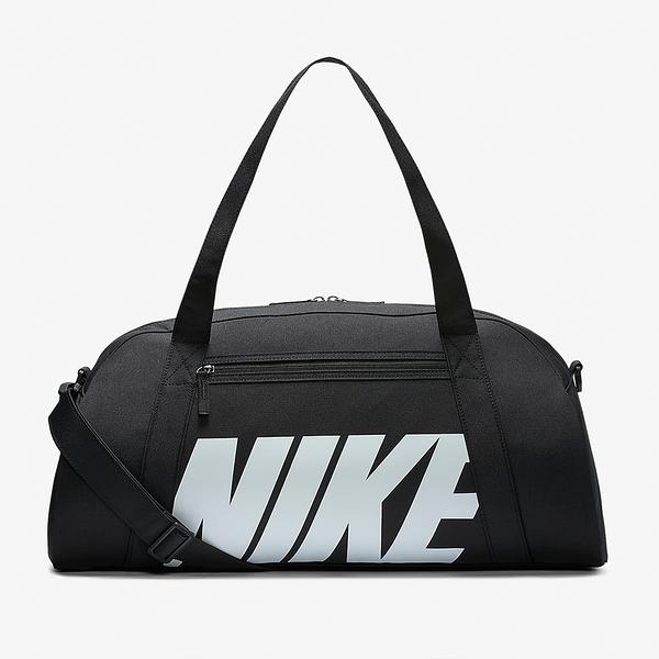 NIKE配件系列 黑底白LOGO運動健身包-GYM CLUB-NO.BA5490019