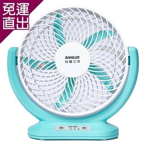 SANLUX台灣三洋 8吋 USB攜帶型DC循環電風扇 SBF-08D【免運直出】