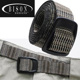 【BISON DESIGNS 美國 PURE TREK 腰帶〈藤沙〉】575RAS/腰帶/扣環腰帶/皮帶