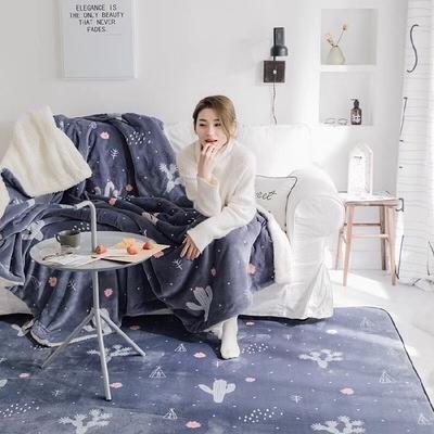 簡約風格地墊地毯雲膚絨客廳臥室茶幾瑜伽兒童遊戲墊