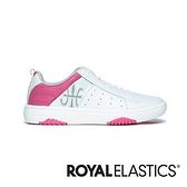 ROYAL ELASTICS ICON2.0 桃紅白真皮潮流運動休閒鞋 (女) 96502-010