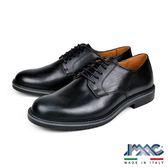 【IMAC】義大利牛皮輕量抗震綁帶德比紳士鞋  黑色(100452-BL)