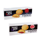 SWEET&JOY甜心夾心曲奇餅135G(蘋果醬、無花果醬)