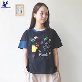【兩件$1800】【早秋新品】American Bluedeer- 森林風T恤(魅力價)  秋冬新款