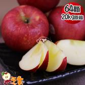 果之家 美國華盛頓榨汁富士蘋果64顆入20kg(單顆約312g)