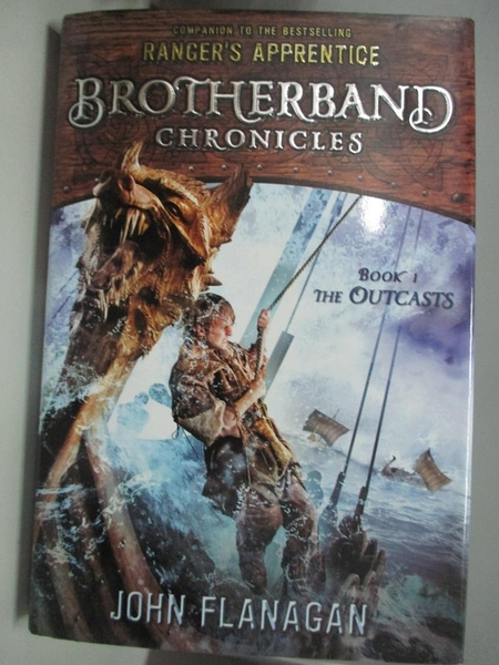 【書寶二手書T9/原文小說_DKI】The Outcasts: Brotherband Chronicles, Book 1_Flanagan, John