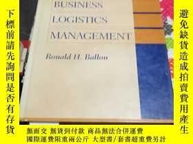 二手書博民逛書店BUSINESS罕見LOGISTICS MANAGEMENT (Fourth Edition) 含盤Y2487