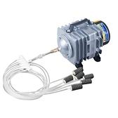 增氧泵 小型增氧泵賣魚增氧機海鮮魚池充氧泵大功率打氧機魚缸氧氣泵養魚 霓裳細軟