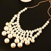 項鍊 玫瑰金純銀 珍珠吊墜-個性百搭生日情人節禮物女飾品73bw10[時尚巴黎]
