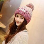 新款月子毛線帽子冬季女保暖套頭帽加厚冬天月子帽護耳產婦針織帽 年終尾牙【快速出貨】