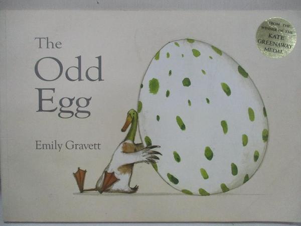 【書寶二手書T1/少年童書_EIN】The Odd Egg_Emily Gravett