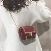 高級感上新包包女2019新款韓版洋氣單肩包時尚百搭斜挎鏈條小方包