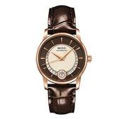 【僾瑪精品】MIDO 美度 BARONCELLI 永恆系列 II 真鑽機械腕錶 M0072073629100