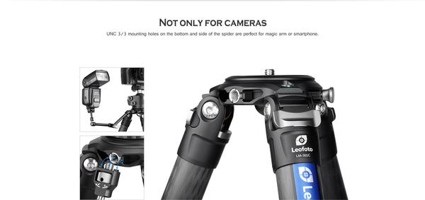 【聖影數位】徠圖 Leofoto LM-365C 碳纖維 5節 三腳架 36mm管徑打鳥利器 含中軸不含雲台