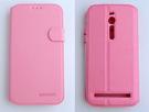 gamax ASUS ZenFone 2 手機 4G LTE(ZE551ML/ZE550ML) 5.5吋 磁扣荔枝紋側翻手機保護皮套 側立 商務二代 內TPU
