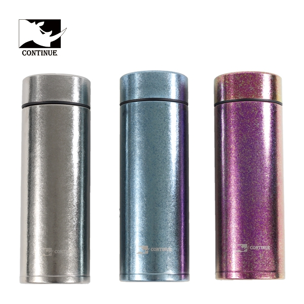CONTINUE 純鈦雙層保溫杯(容量380ml)