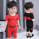 童裝男童夏裝兒童短袖套裝夏季寶寶兩件套   GY12『寶貝兒童裝』