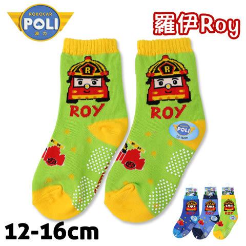 止滑童襪 救援小英雄波力 羅伊 消防車款 PL-S2203B 台灣製 POLI