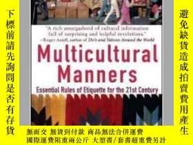 二手書博民逛書店罕見二手!Multicultural Manners: Esse