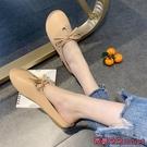 穆勒鞋 涼拖鞋女夏外穿新款百搭時尚懶人平底包頭穆勒半拖-Ballet朵朵