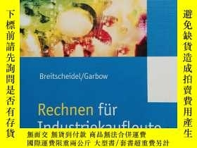 二手書博民逛書店英文原版書:罕見《Rechnen fur Industrieka