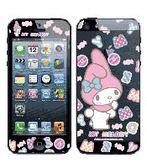 美樂蒂 彩繪貼-  iPhone 5s 5 iPhone SE 螢幕貼+背蓋貼 101