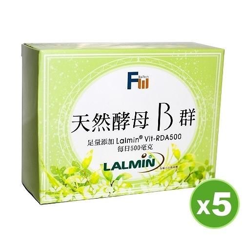天然酵母B群5盒組【美好壯】(買1組送1組)