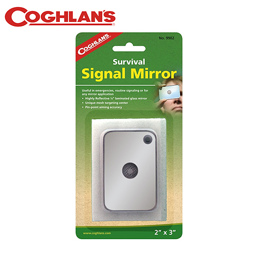 丹大戶外【Coghlans】加拿大 SIGNAL MIRROR 緊急救難反光鏡 9902