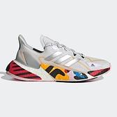 ADIDAS X9000L4 女鞋 慢跑 科技風 網布 透氣 襪套 緩震 白 銀 灰【運動世界】FX8463