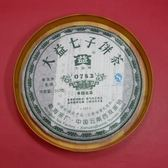 【歡喜心珠寶】【雲南大益七子普洱青餅茶】0782 豐韵之品2007年批次701普洱茶,生茶357克1餅