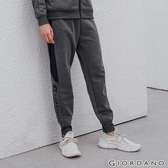 【GIORDANO】男裝G-MOTION側邊字母運動束口褲-44 雪花深灰