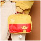 收納袋-迪士尼系列維尼化妝/旅行收納袋-單1款-A09090181-天藍小舖